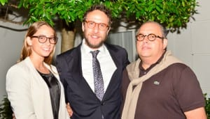 Mushka Wolff, Rabbi Levi Wolff and Philip Carr