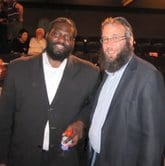 Bowdrie with Rabbi Mendel Kastel