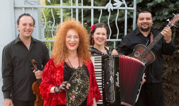 Fay Sussman and her band