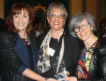Lorraine Raskin, Shirley Glance and Frankie Pinch