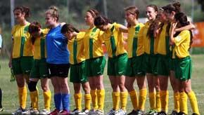 Play soccer for Australia in Israel