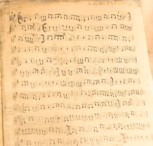 Rabbi Samuel Gottshall's sheet music