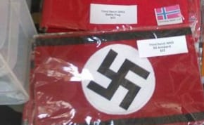 Nazi insignia on sale in Victoria