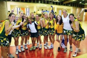 Maccabiah netballers