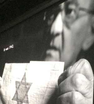 Shadows of Shoah exhibit