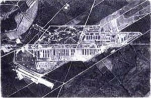 RAF photo of the camp
