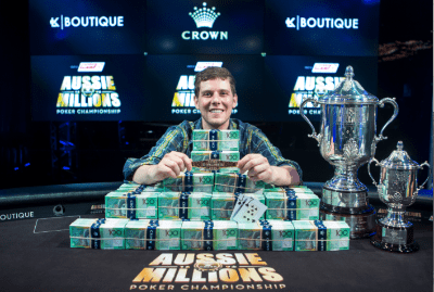 Poker champion Ari Engel