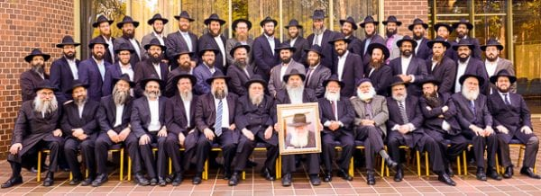 Rabbinical working group    Photo:  Henry Benjamin