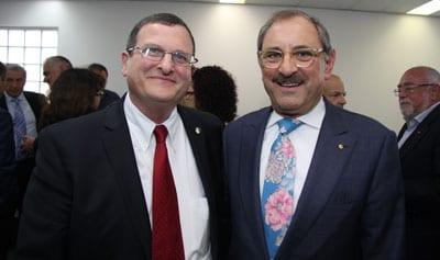 Ambassador-Designate Shmuel Ben-Shmuel and RObert Goot