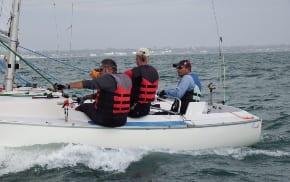 Israeli Paralympics sailing teams in Melbourne