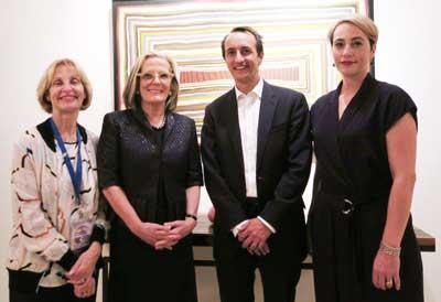 Jillian Segal, Lucy Turnbull, Ambassador Dave Sharman and Rachel Lord
