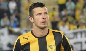 Aussie soccer star playing in Israel