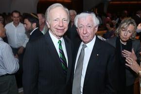 Joe Lieberman and Frank Lowy