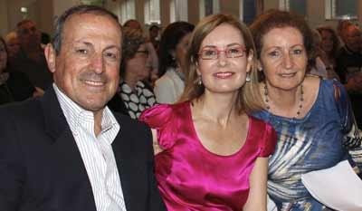 Vic Alhadeff, Gabrielle Upton and Dalia Sinclair