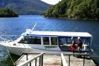 The ferry at Te Anau