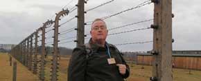 Walt Secord visits Auschwitz