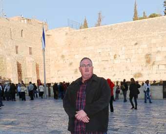 Walt Secord in Jerusalem