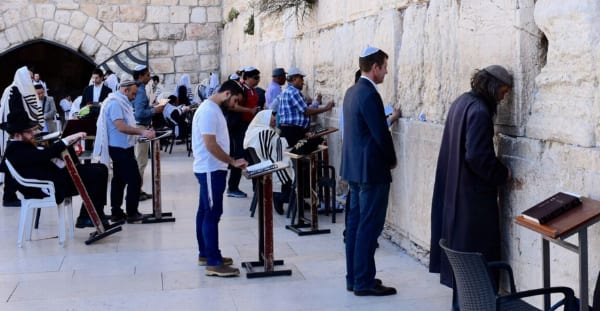 Premier Baird took time out to visit the Kotel otherwise known as the Wailing Wall in Jerusalem