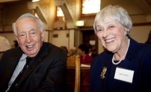 Sir Zelman and Lady Anna Cowen