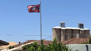The shame of that flag