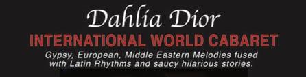 Mar-01 Sydney:  Dahlia Dior in cabaret