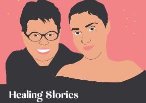 Healing Stories: Alison Jones and Rikki Stern speak to Alice Moldovan