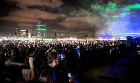 Concerts return to Israel as infection rate remains high