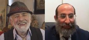 Henry Greener zooms with Rabbi Nir Gurevitch