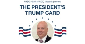 Nov-15 Online:  WIZO hosts a conversation with Jason Greenblatt
