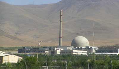 The Iran nuclear program's heavy-water reactor at Arak. Credit: Nanking2012 via Wikimedia Commons.