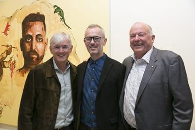 Steven Lowy, Dr M ichael Brandt and Brian Schwartz