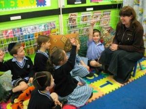 Children learning awareness from Deborah Blackman