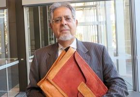 Hakoah Club president George Farkas
