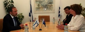 Deputy Prime Minister and Minister for Foreign Affairs Avigdor Liberman