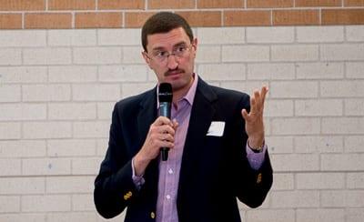 Julian Leeser speaking at the ECAJ conference Photo: Henry Benjamin/J-Wire
