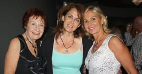 Margaret Gutman, Irris Mekler and Cheryl Bart