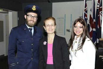 Chaplain Rabbi Friedman, Upton, Rebbetzin Hanna Friedman
