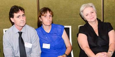 Shane, Teresa and Nora Goodridge