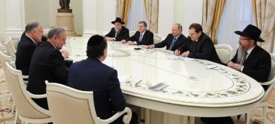 Meeting with Putin  Photo: Kremlin Press Service