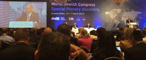 Robert Goot adresses the WJC