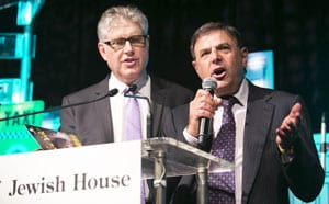 Jewish House board members Roger Clifford and Gary Cohen