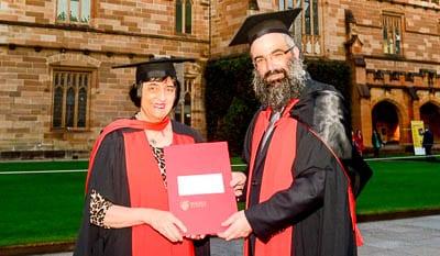 Professor Suzanne Rutland and Rabbi Dr Dovid Slavin PhD