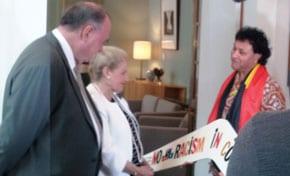 Bronwyn Bishop receives petition