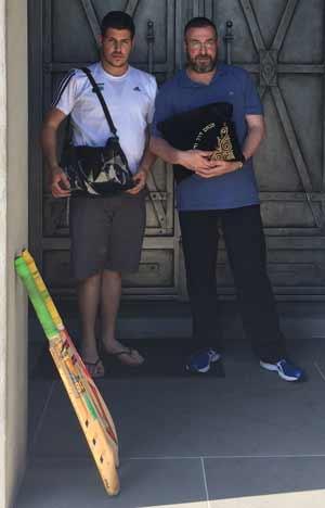 Shua and David Werdiger - bats ,tefilin and tall it