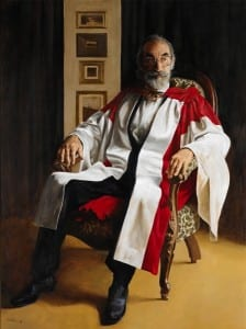 Joseph Brown painted by Wes Walters