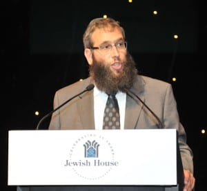 Jewish House CEO Rabbi Mendel Kastel