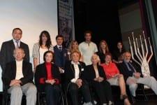 Shoah  survivors with their grandchildren         Pic: Ingrid Shakenovsky