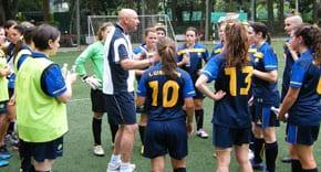 Women coached v Brazil